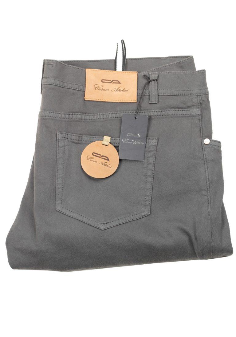 Cesare Attolini Gray Jeans Size 58 / 42 U.S. - thumbnail | Costume Limité