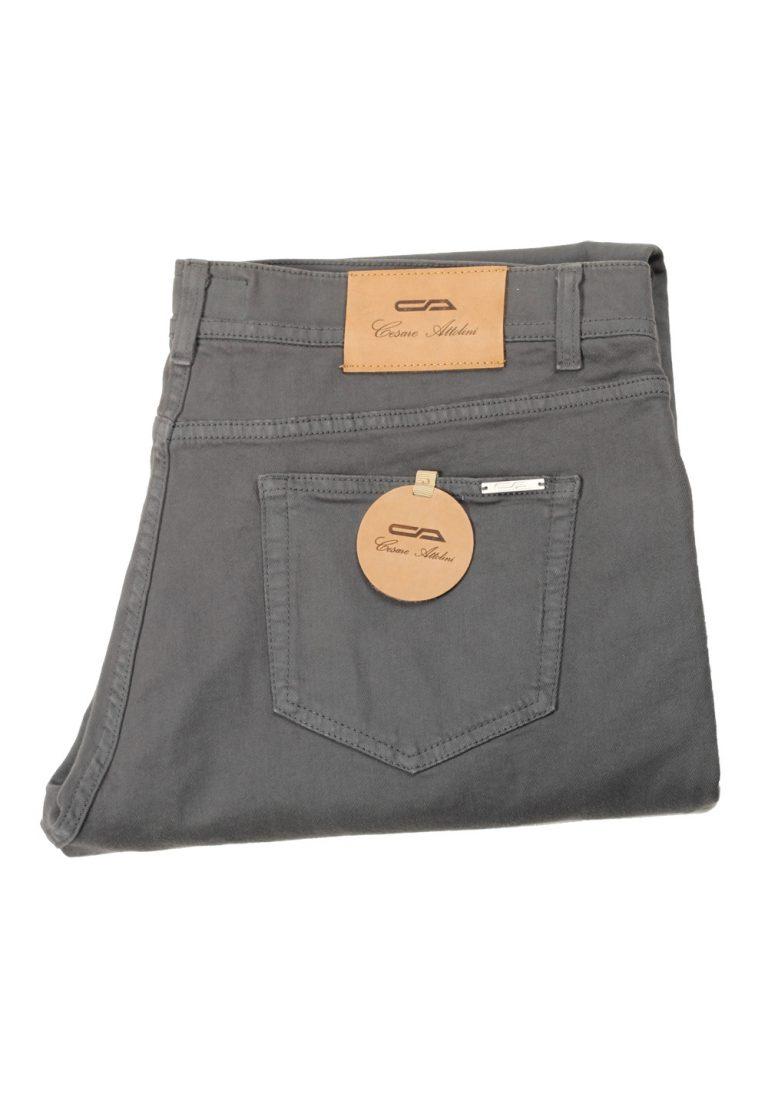 Cesare Attolini Gray Jeans Size 56 / 40 U.S. - thumbnail | Costume Limité