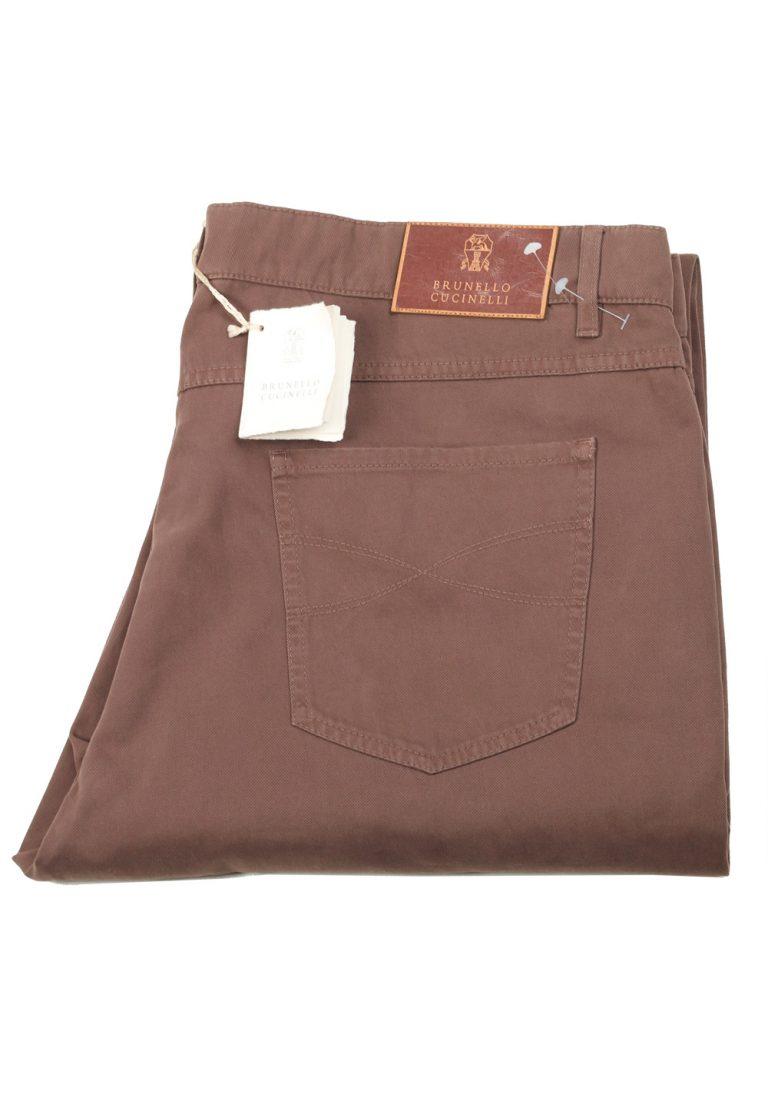 Brunello Cucinelli Brown Trousers Size 60 / 44 U.S. - thumbnail | Costume Limité