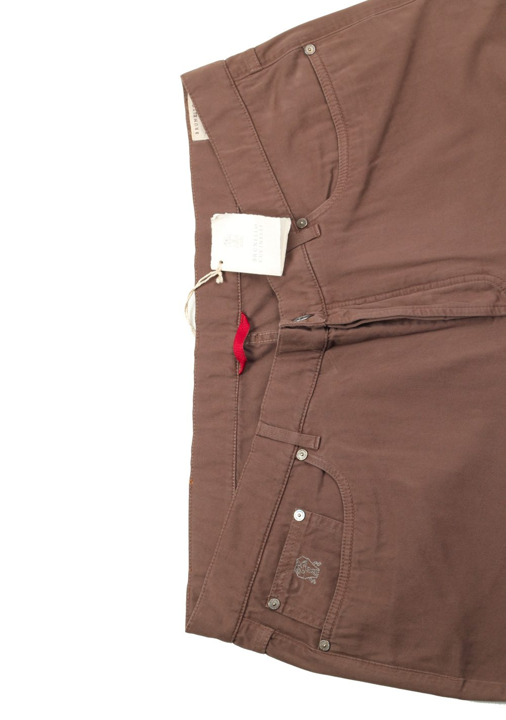 Brunello Cucinelli Brown Trousers Size 60 / 44 U.S. | Costume Limité