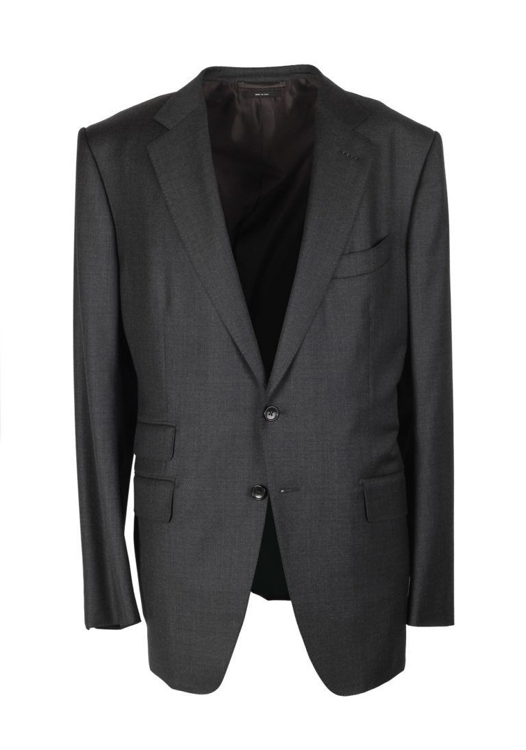 TOM FORD O'Connor Gray Suit Size 54 / 44R U.S. Wool Fit Y - thumbnail | Costume Limité