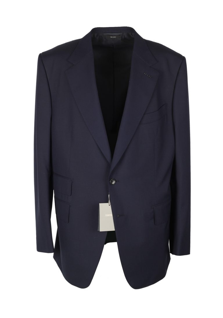 TOM FORD Windsor Blue Suit Size 56 / 46R U.S. Wool Fit A - thumbnail | Costume Limité