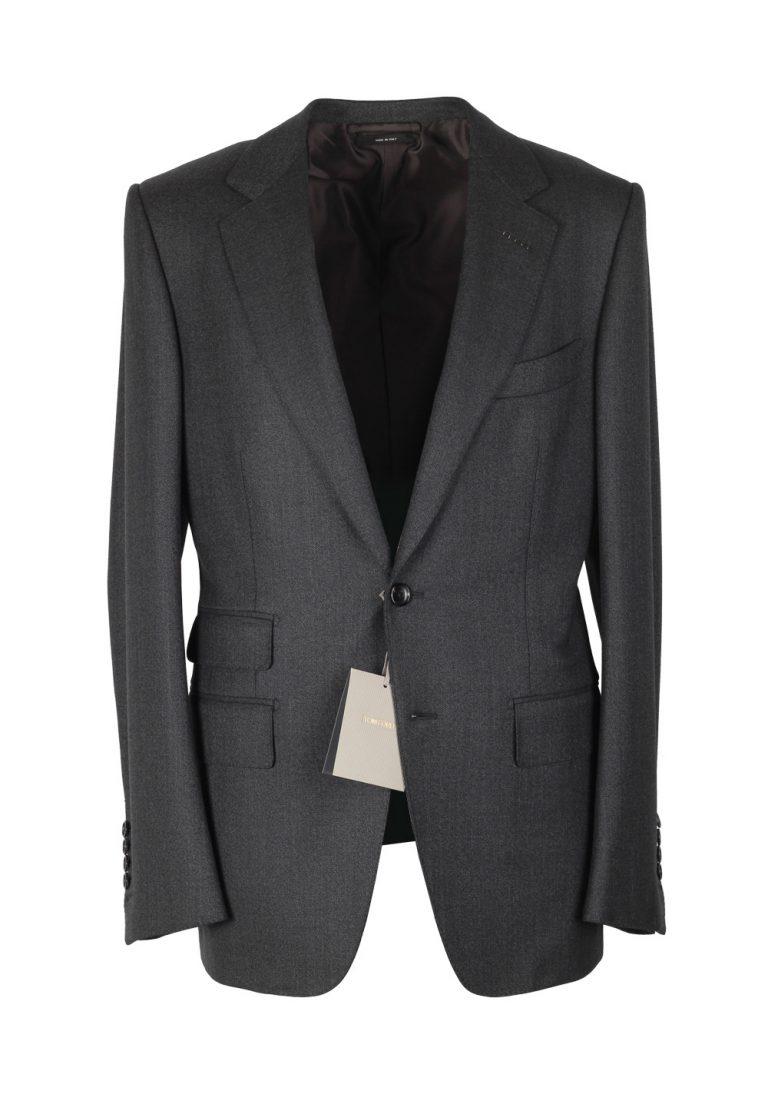 TOM FORD Gray Sport Coat Size 48 / 38R U.S. Wool Basic Base V Nuova - thumbnail | Costume Limité