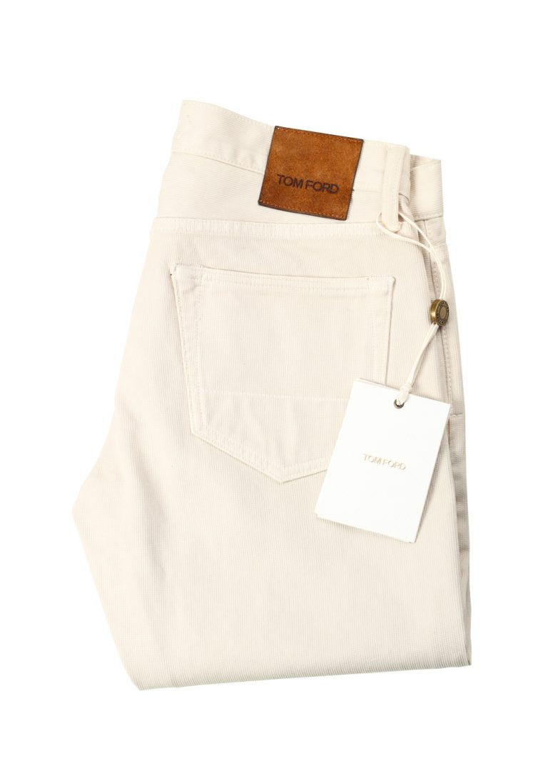 TOM FORD Slim Beige Jeans TFD001 Size 47 / 31 U.S. - thumbnail | Costume Limité
