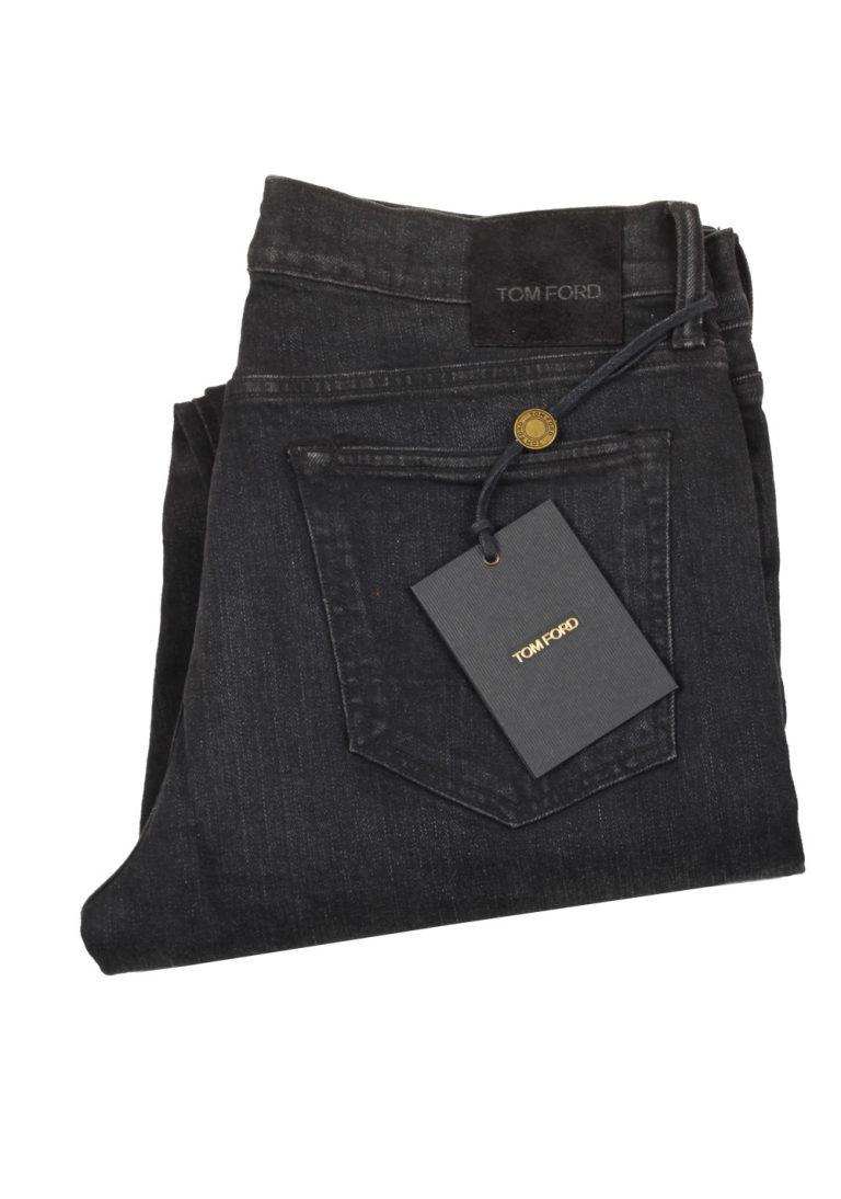 TOM FORD Black Slim Fit Jeans TFD001 Size 46 / 30 U.S. - thumbnail   Costume Limité