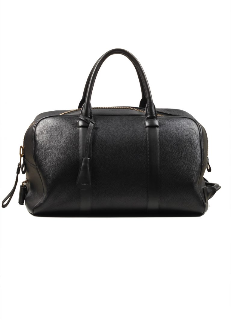 TOM FORD Black Zip Doctors Bag With Shoulder Strap - thumbnail | Costume Limité