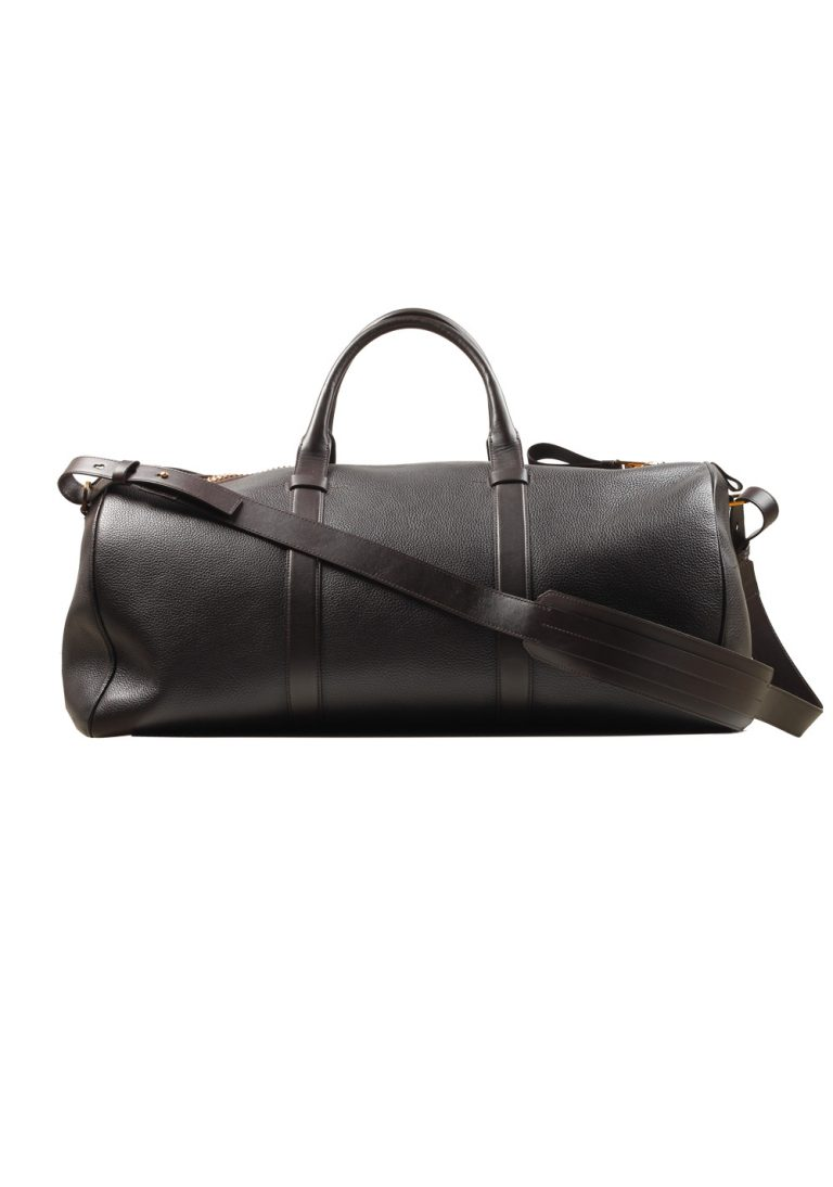 TOM FORD Dark Brown Buckley Duffle Bag - thumbnail | Costume Limité