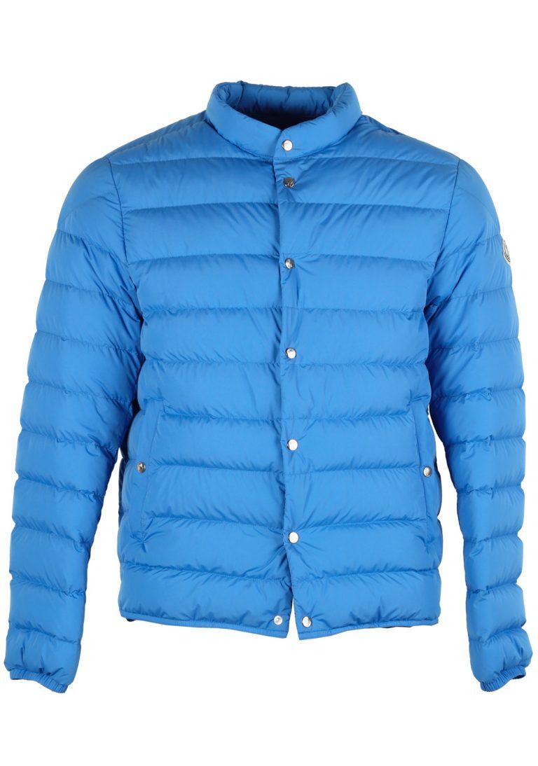 Moncler Blue CYCLOPE Quilted Down Jacket Coat Size 4 / L / 52 / 42 U.S. - thumbnail | Costume Limité