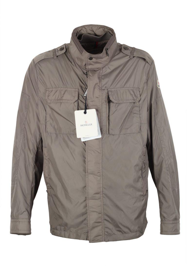Moncler Beige JONATHAN Lightweight Rain Jacket Coat Size 6 / XL / 56 / 46R U.S. - thumbnail | Costume Limité