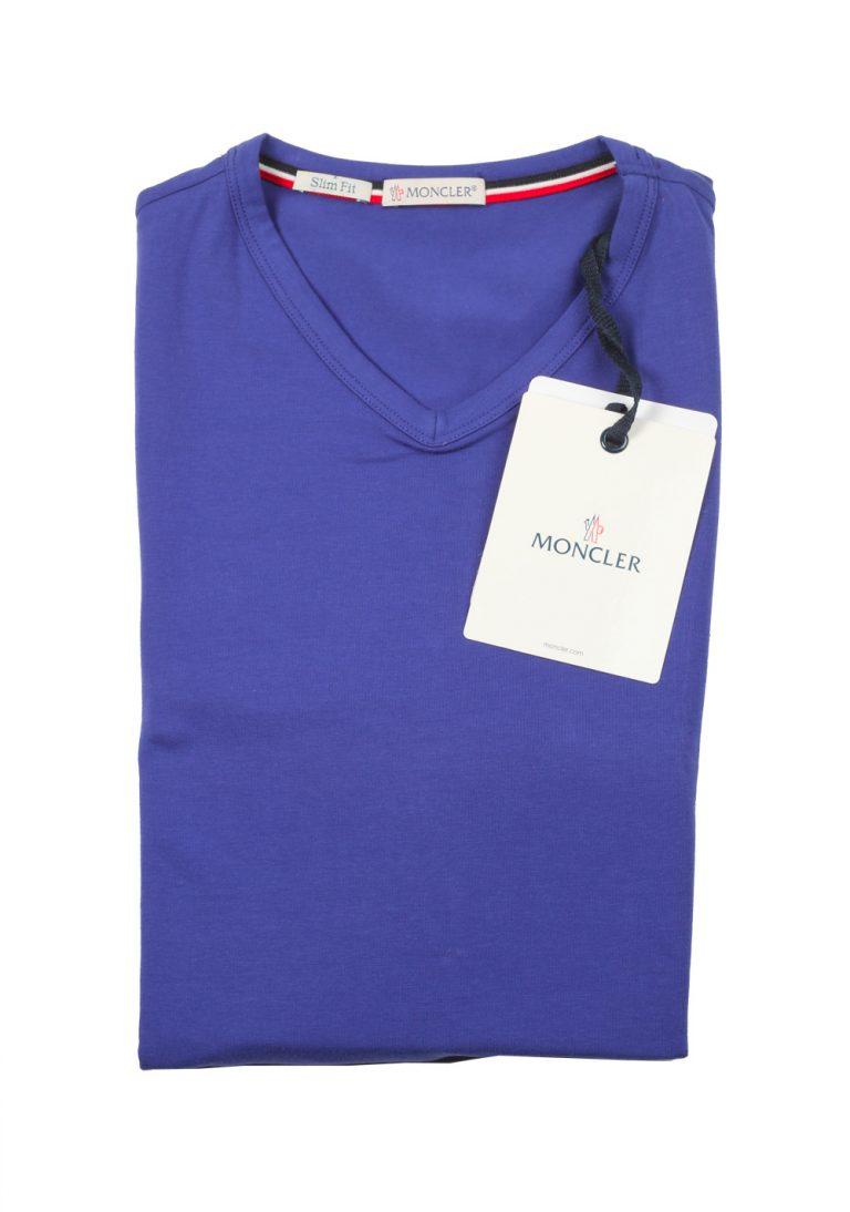 Moncler Lilac V Neck Tee Shirt Size S / 36R U.S. - thumbnail | Costume Limité
