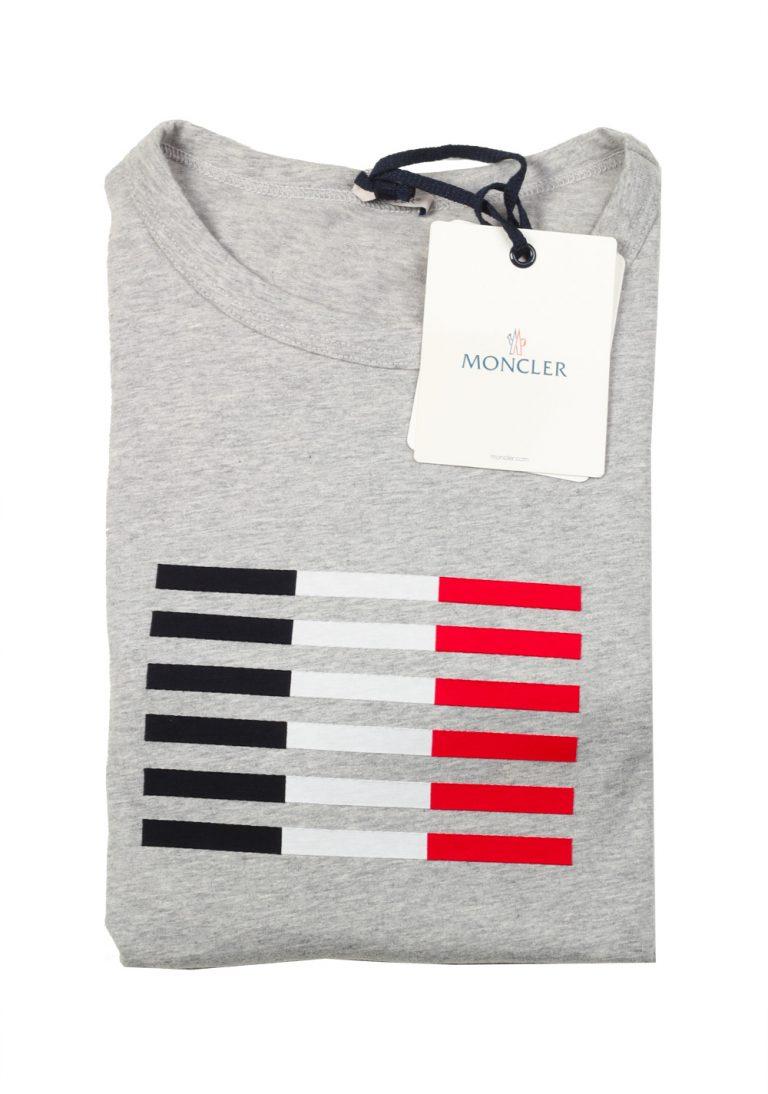Moncler Crew Neck Tee Shirt Size L / 40R U.S. Gray - thumbnail | Costume Limité