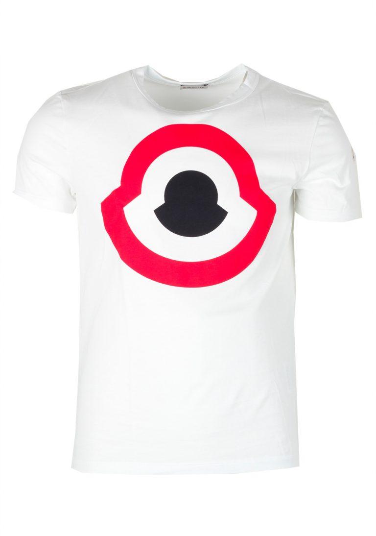 Moncler White Crew Neck Tee Shirt Size S / 36R U.S. - thumbnail | Costume Limité