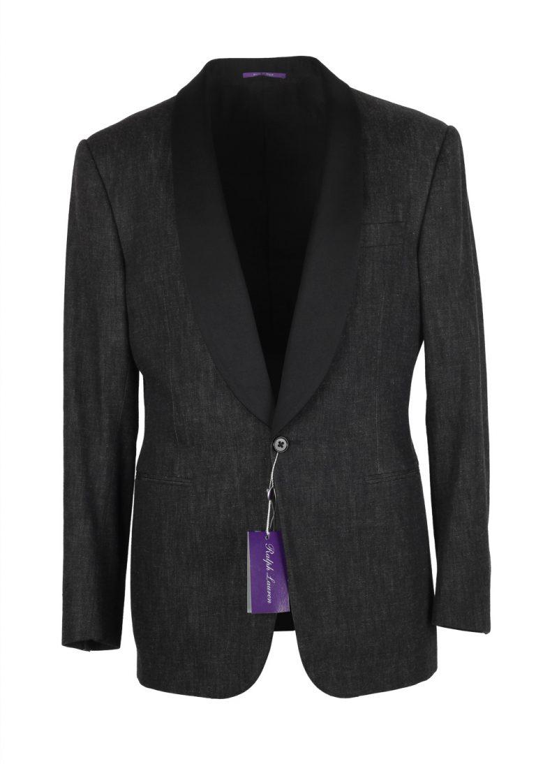 Ralph Lauren Purple Label Charcoal Denim Tuxedo Size 52L / 42L U.S. In Cotton - thumbnail | Costume Limité