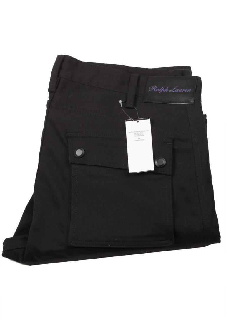 Ralph Lauren Purple Label Black Cargo Moto Jeans Size 56 / 40 U.S. - thumbnail | Costume Limité
