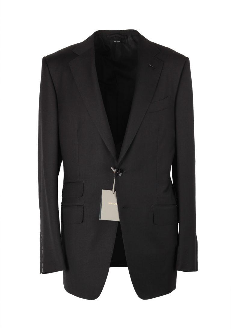TOM FORD O'Connor Black Suit Size 48L / 38L U.S. Wool Fit Y - thumbnail | Costume Limité