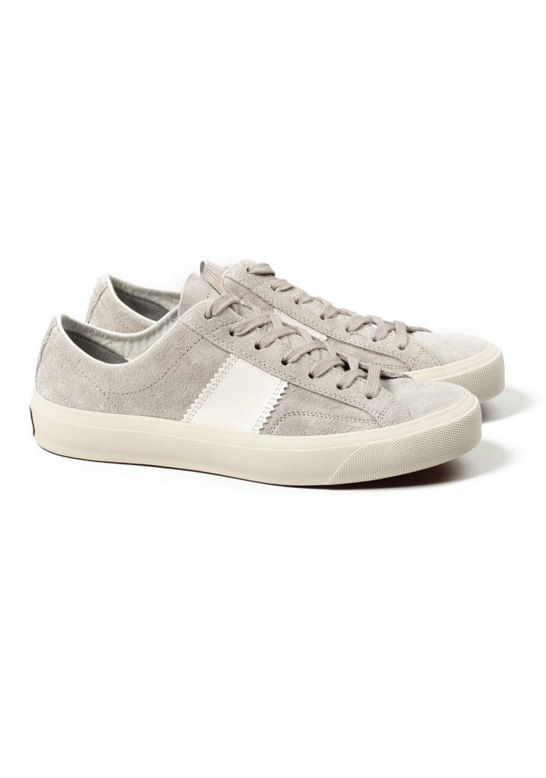 TOM FORD Cambridge Lace Up Gray Suede Sneaker Shoes Size 9,5 UK / 10,5 U.S. - thumbnail | Costume Limité