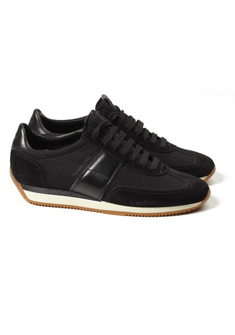 TOM FORD Orford Colorblock Black Trainer Sneaker Shoes Size 7 UK / 8 U.S. - thumbnail | Costume Limité