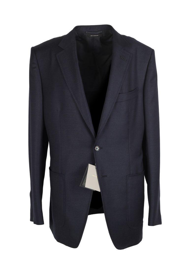 TOM FORD O'Connor Blue Sport Coat Size 54L / 44L U.S. Fit Y - thumbnail   Costume Limité