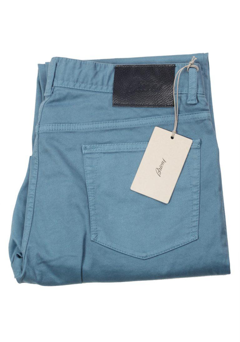 Brioni Blue SPL43P Trousers Size 50 / 34 U.S. - thumbnail | Costume Limité