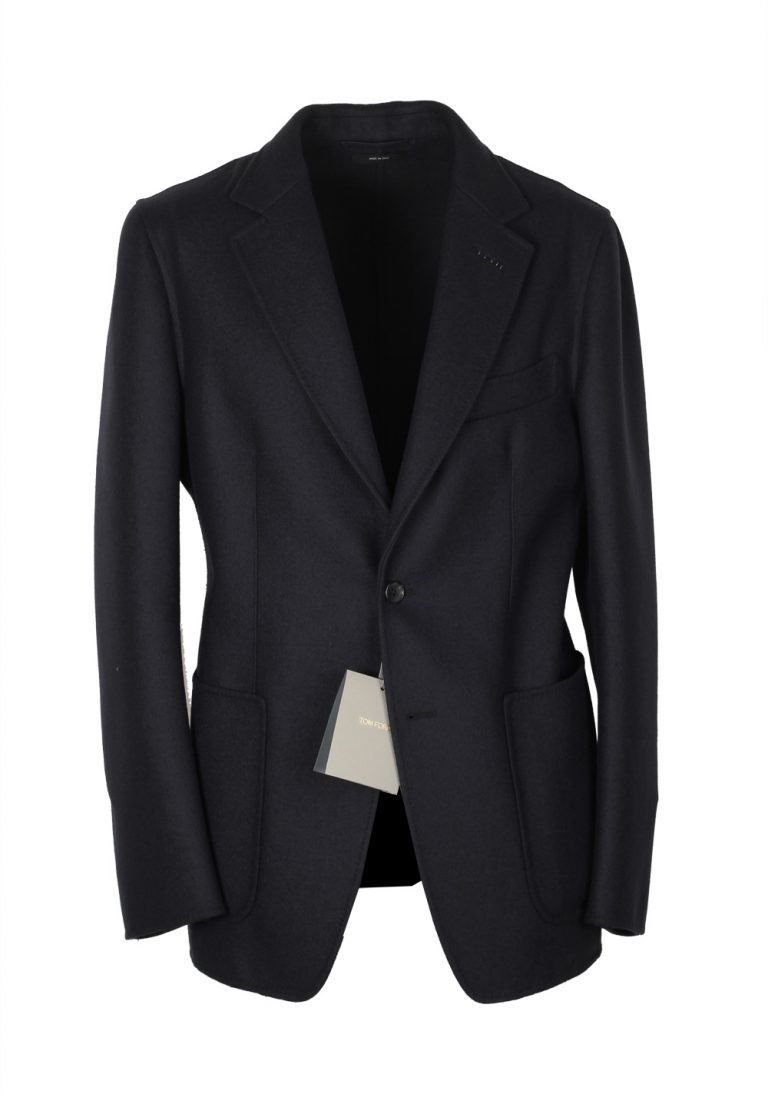 TOM FORD O'Connor Black Double Faced Unlined Sport Coat Size 48 / 38R U.S. Wool Fit Y - thumbnail | Costume Limité