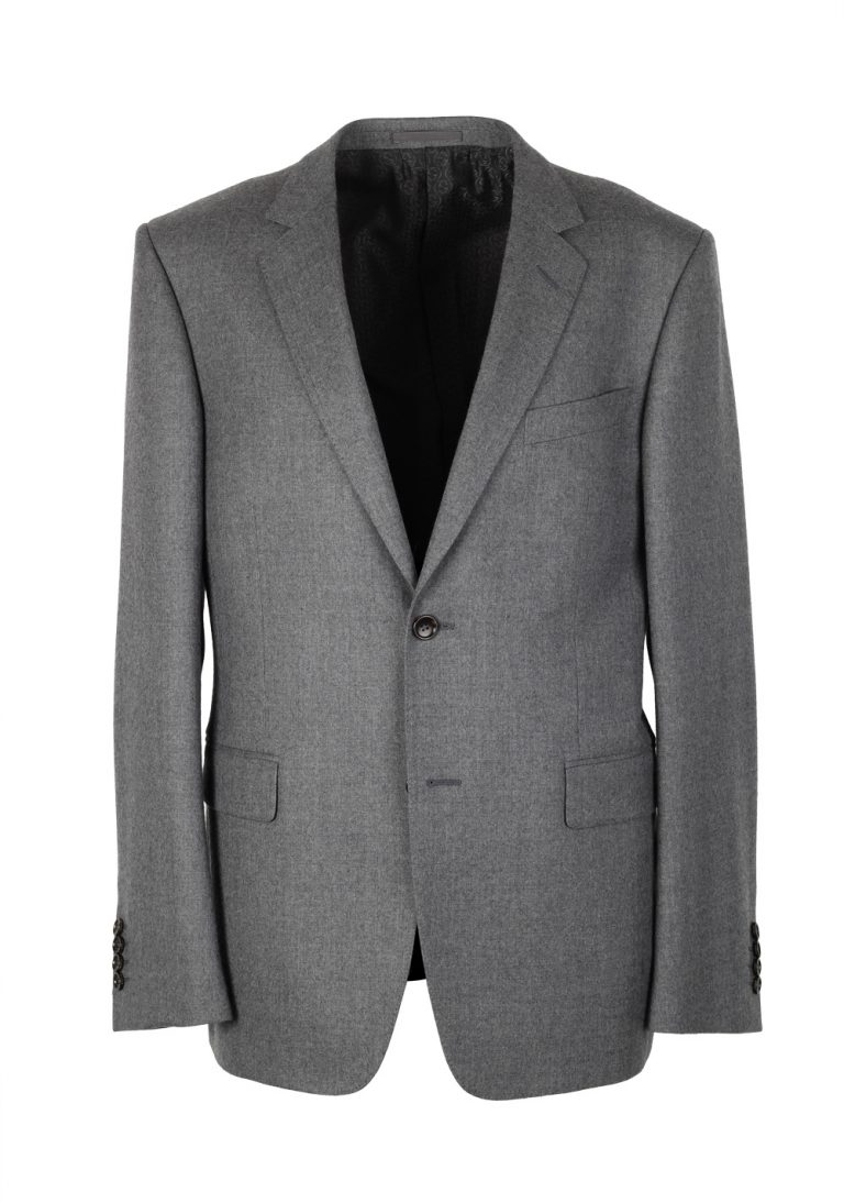 Gucci Gray Flannel Suit Size 50 / 40R U.S. In Wool - thumbnail | Costume Limité