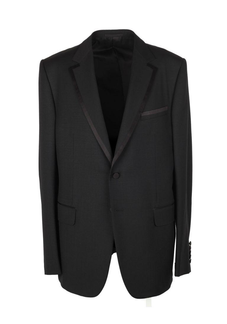 Gucci Black Tuxedo Size 56L / 46L U.S. In Wool Mohair - thumbnail | Costume Limité