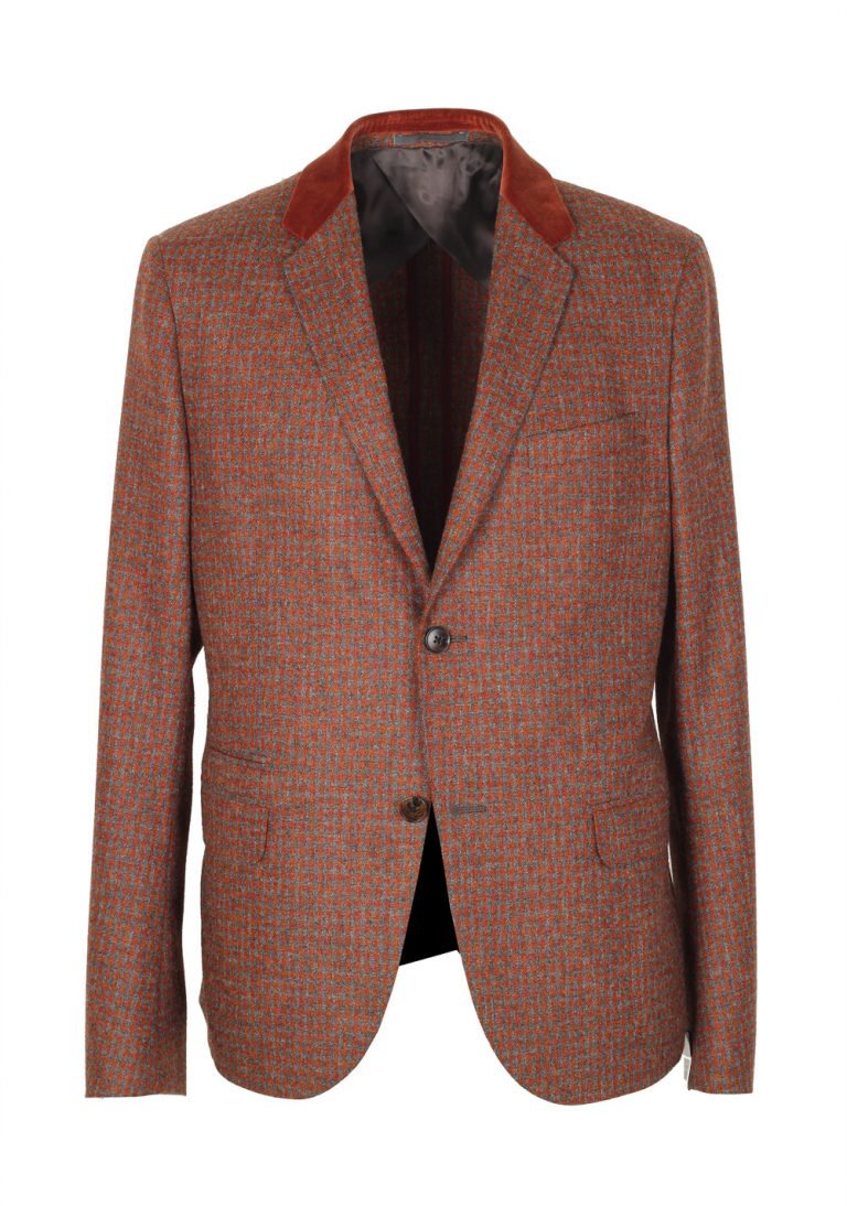 Gucci Brown Checked Sport Coat Size 50 / 40R U.S. In Wool - thumbnail | Costume Limité