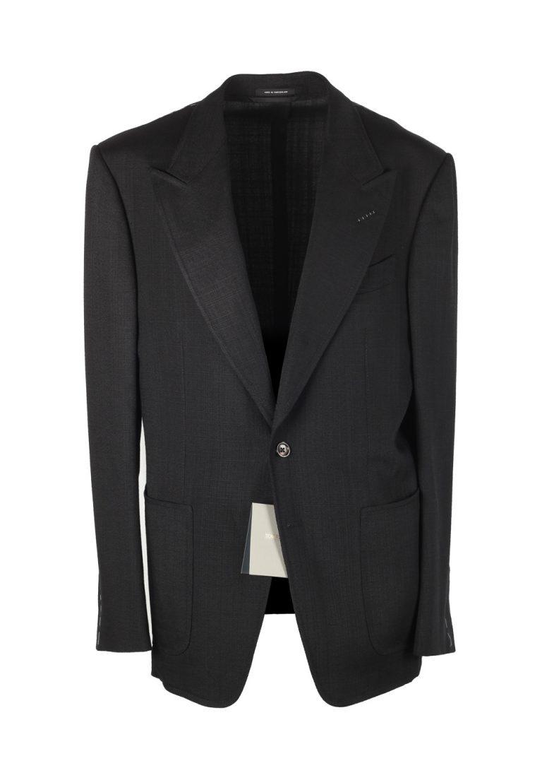TOM FORD Shelton Black Sport Coat Size 50 / 40R U.S. In Rayon - thumbnail | Costume Limité