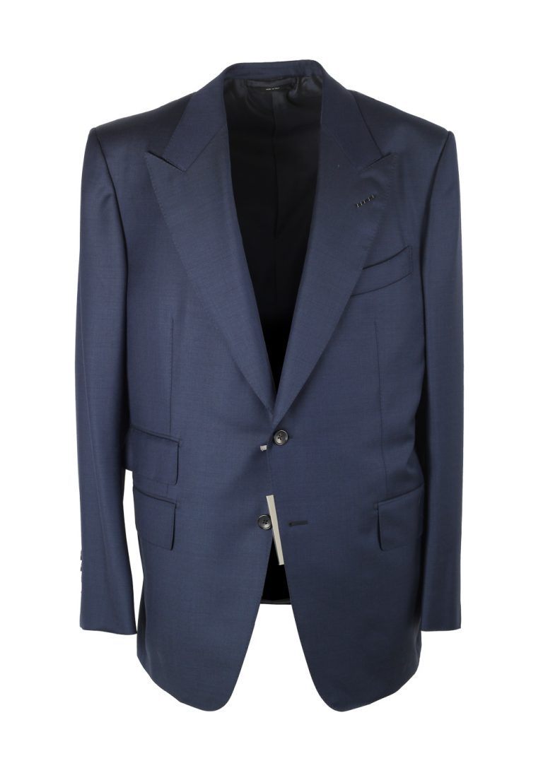TOM FORD Windsor Navy Suit Size 54 / 44R U.S. Wool Fit A - thumbnail | Costume Limité