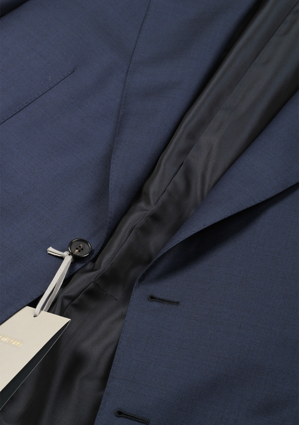 TOM FORD Windsor Navy Suit Size 54 / 44R U.S. Wool Fit A   Costume Limité