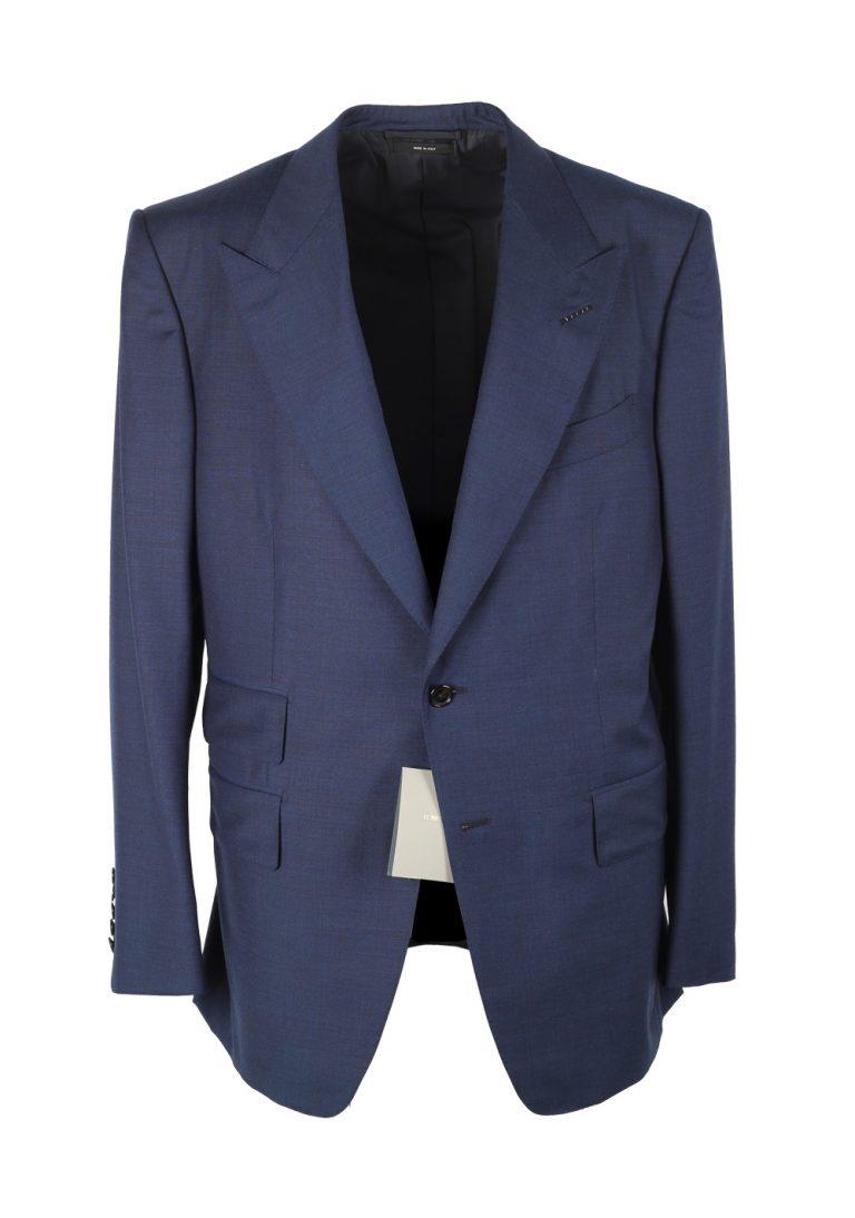 TOM FORD Windsor Blue Suit Size 54 / 44R U.S. Wool Fit A - thumbnail | Costume Limité