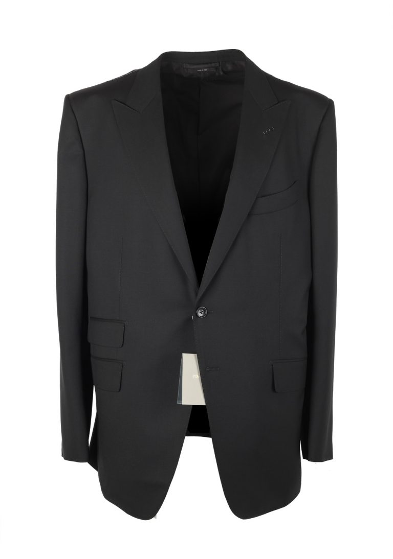 TOM FORD O'Connor Black Suit Size 58 / 48R U.S. Wool Fit Y - thumbnail | Costume Limité