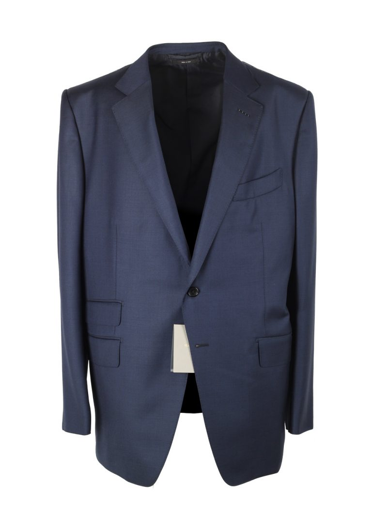 TOM FORD O'Connor Blue Suit Size 58 / 48R U.S. Wool Fit Y - thumbnail | Costume Limité