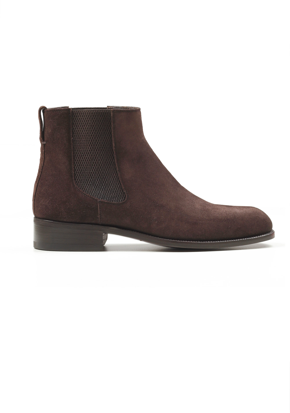 035857aaa New TOM FORD Wilson Brown Suede Chelsea Boots Shoes Size 8 UK / 9 ...