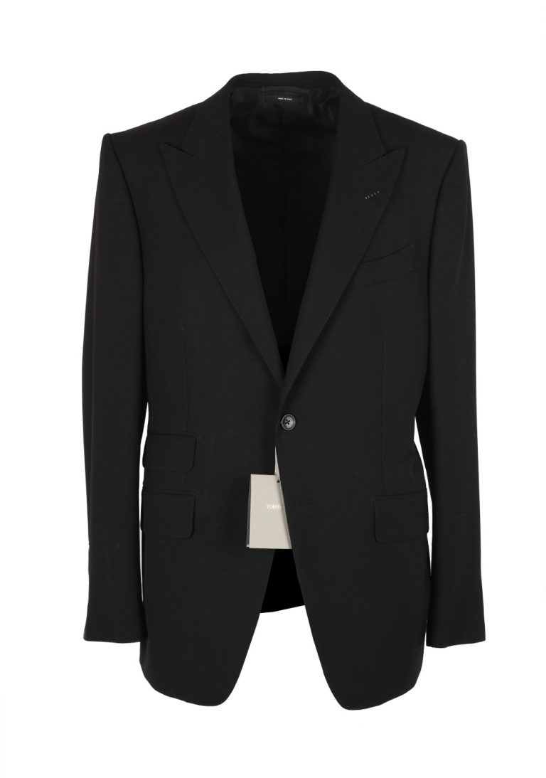 TOM FORD O'Connor Black Suit Size 50 / 40R U.S. In Wool Fit Y - thumbnail | Costume Limité