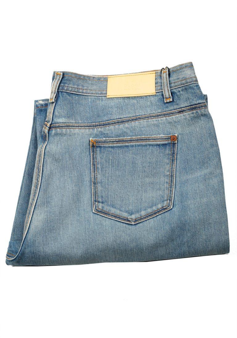 Gucci Blue Bootcut Jeans Size 54 / 38 U.S. - thumbnail   Costume Limité