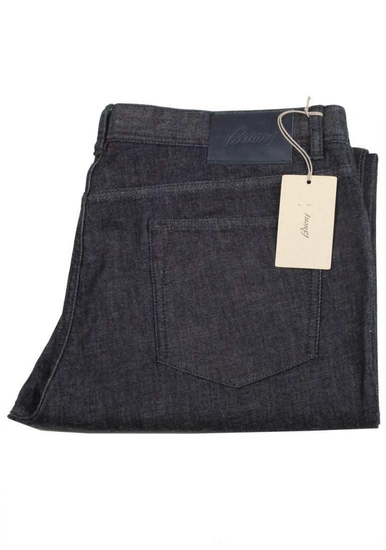 Brioni Blue Jeans SPL40Z Trousers Size 56 / 40 U.S. - thumbnail | Costume Limité