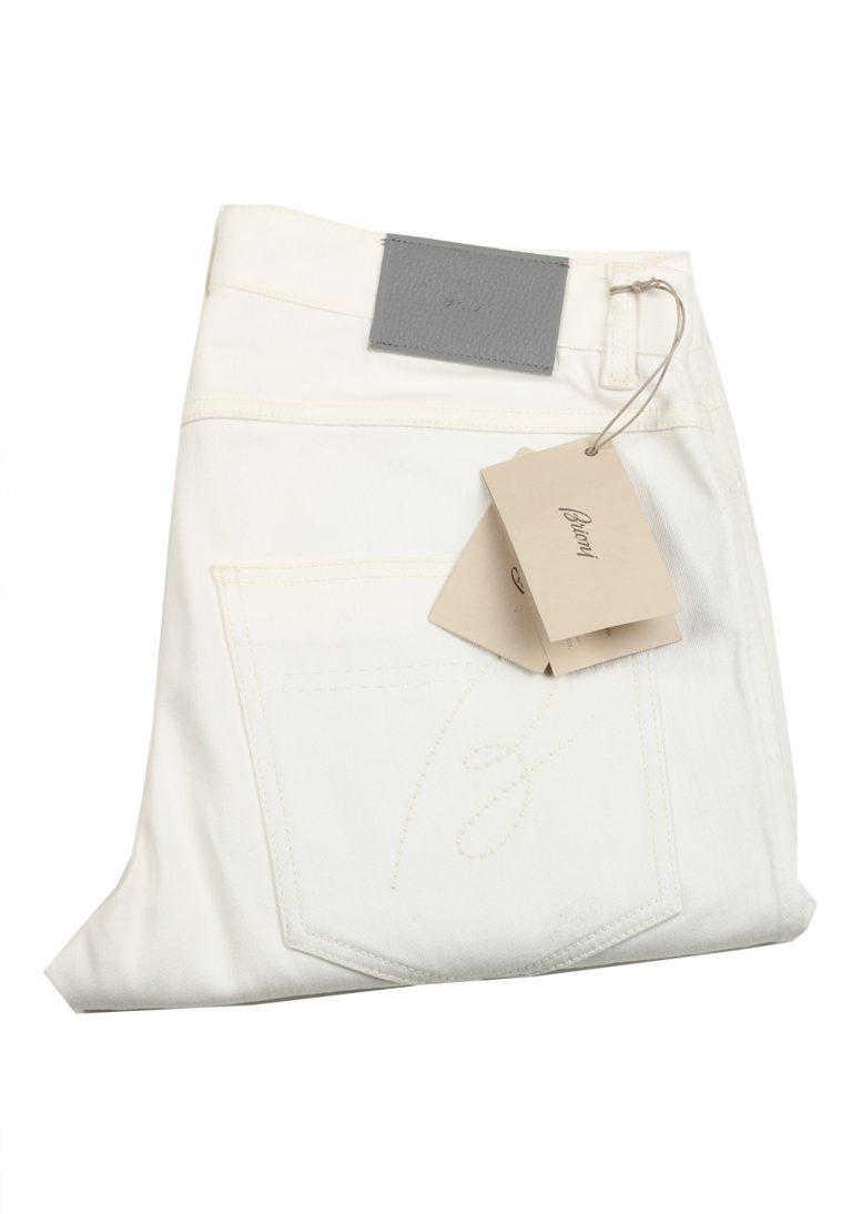 Brioni White Jeans SPL70L Trousers Size 51 / 35 U.S. - thumbnail | Costume Limité