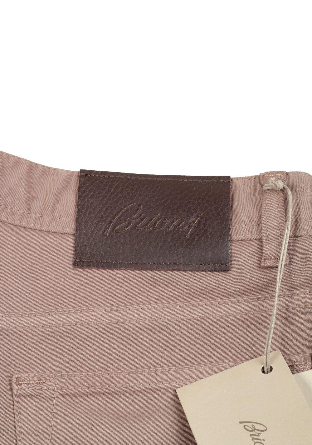 Brioni Brown Jeans SPL43Q Trousers Size 56 / 40 U.S. | Costume Limité