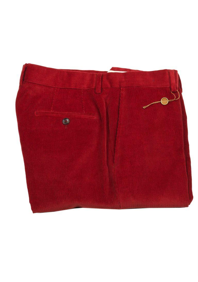 Gucci Red Corduroy Trousers Size 52 / 36 U.S - thumbnail | Costume Limité
