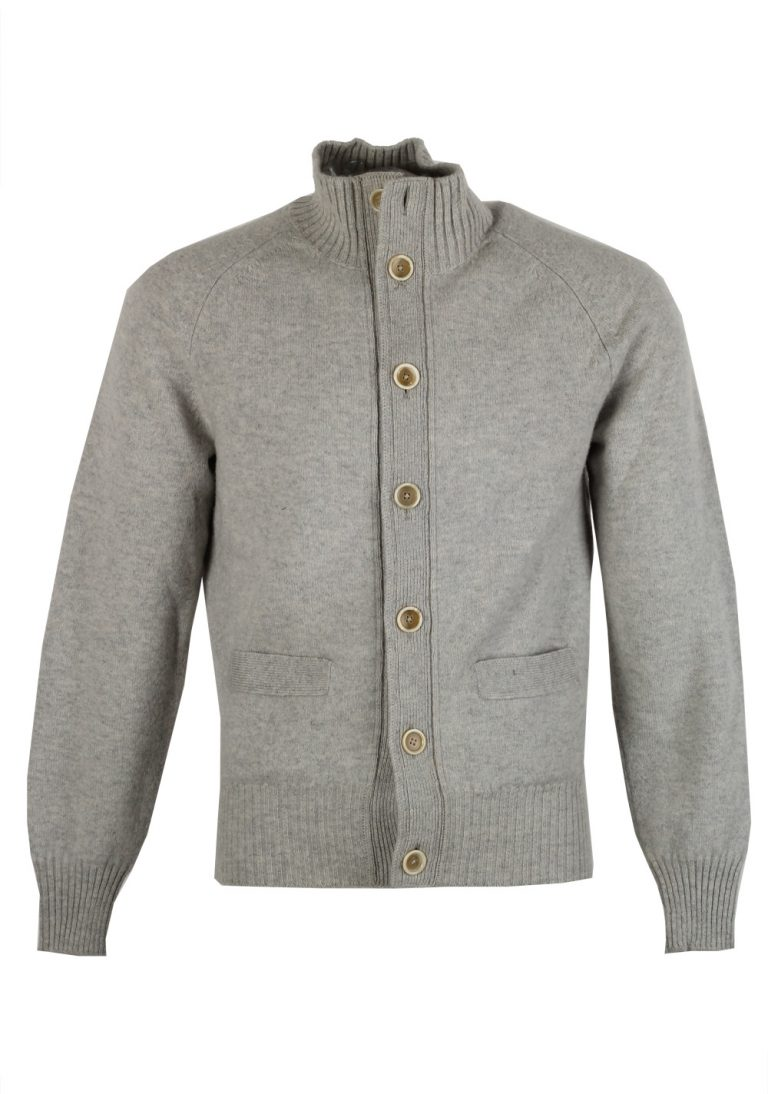 TOM FORD Gray Button Cardigan Size 48 / 38R U.S. In Cashmere - thumbnail | Costume Limité