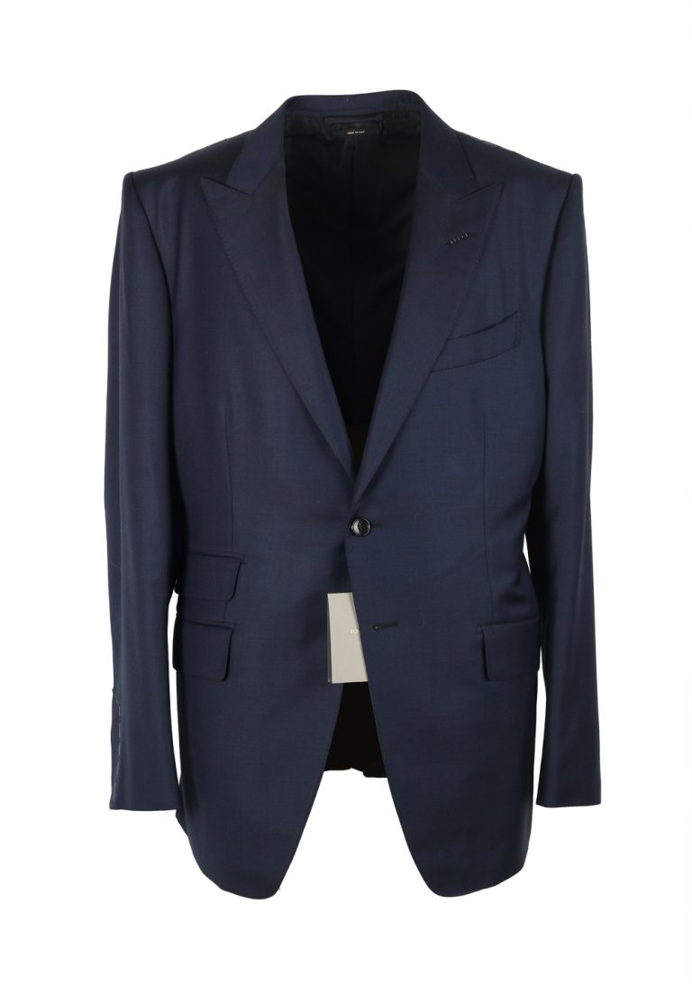 TOM FORD O'Connor Navy Suit Size 54 / 44R U.S. Wool Fit Y - thumbnail | Costume Limité