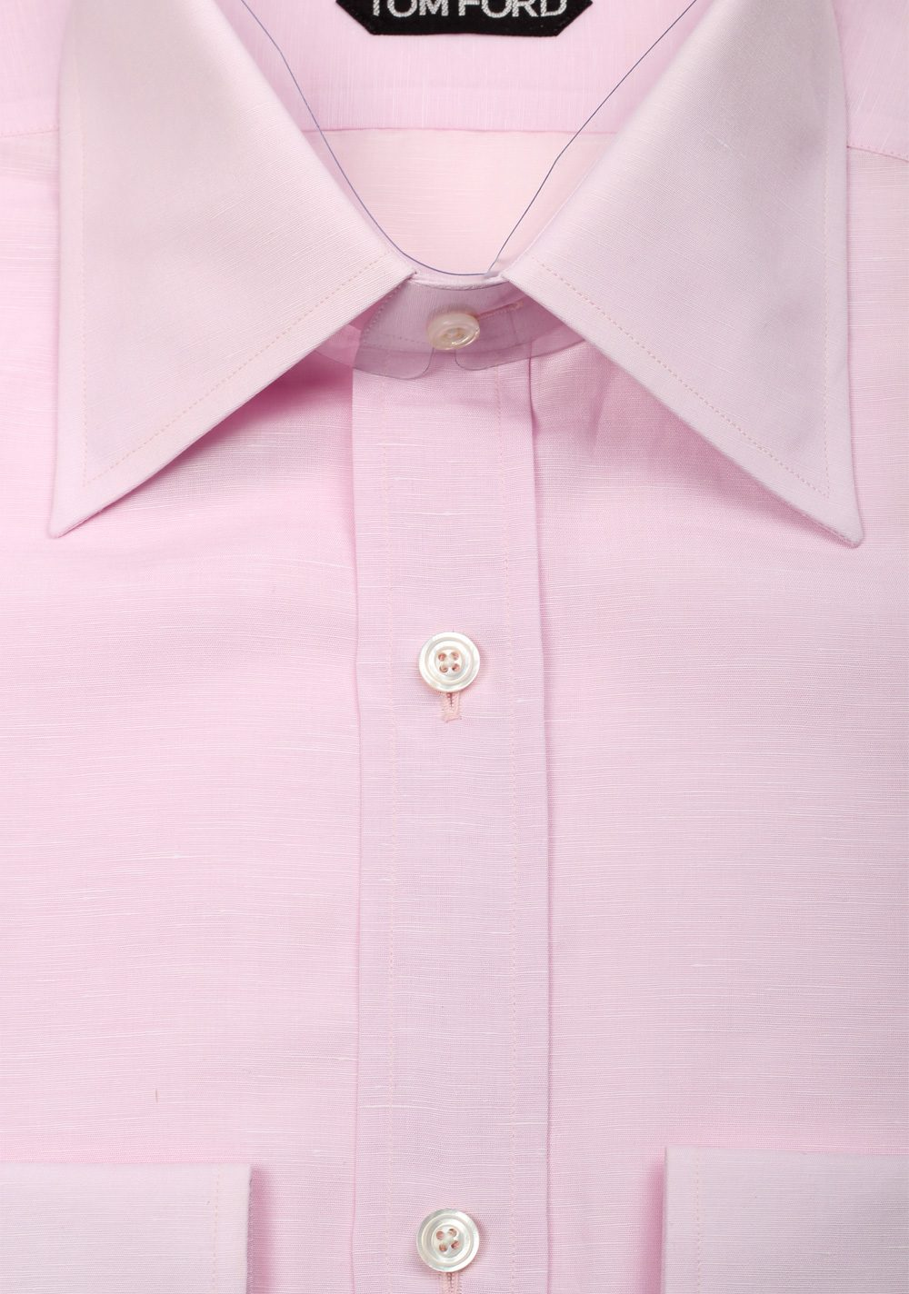 Tom ford solid pink dress shirt size 40 15 75 u s for Size 15 dress shirt