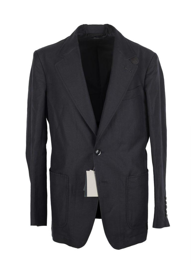 TOM FORD Black Blouson Jacket Coat Size 56 / 46R U.S. Outerwear - thumbnail | Costume Limité