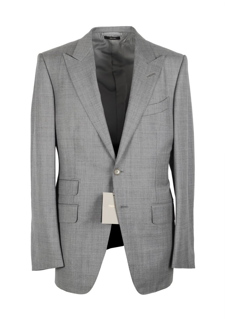 TOM FORD O'Connor Gray Suit Size 48 / 38R U.S. Wool Fit Y - thumbnail | Costume Limité
