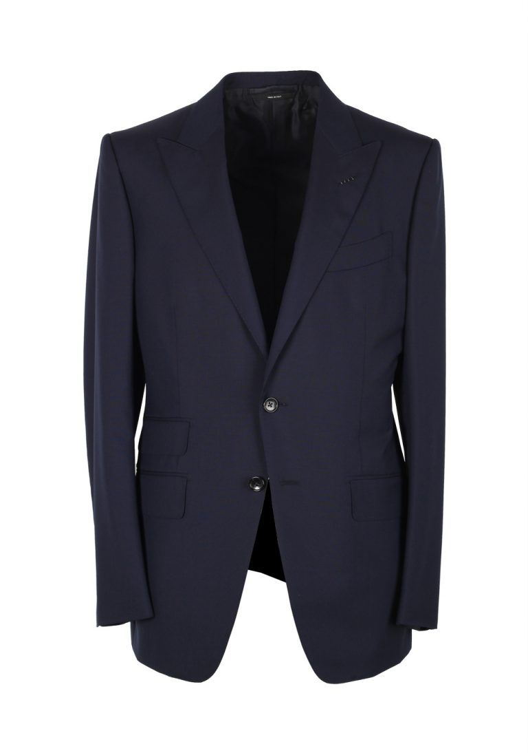 TOM FORD O'Connor Blue Suit Size 48 / 38R U.S. Wool Fit Y - thumbnail | Costume Limité
