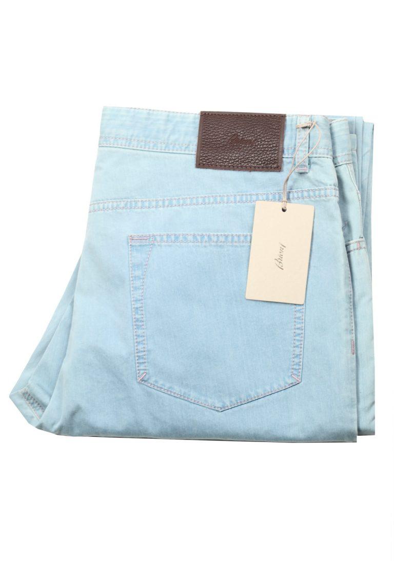 Brioni Blue Jeans Meribel Trousers Size 53 / 37 U.S. - thumbnail   Costume Limité