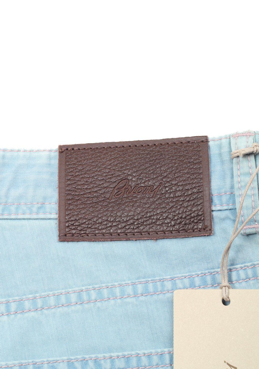 Brioni Blue Jeans Meribel Trousers Size 53 / 37 U.S. | Costume Limité