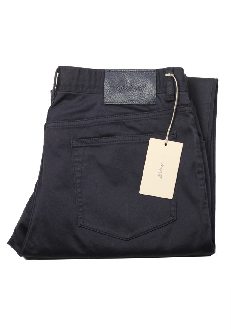Brioni Blue Jeans Meribel SPL43O Trousers Size 52 / 36 U.S. - thumbnail   Costume Limité