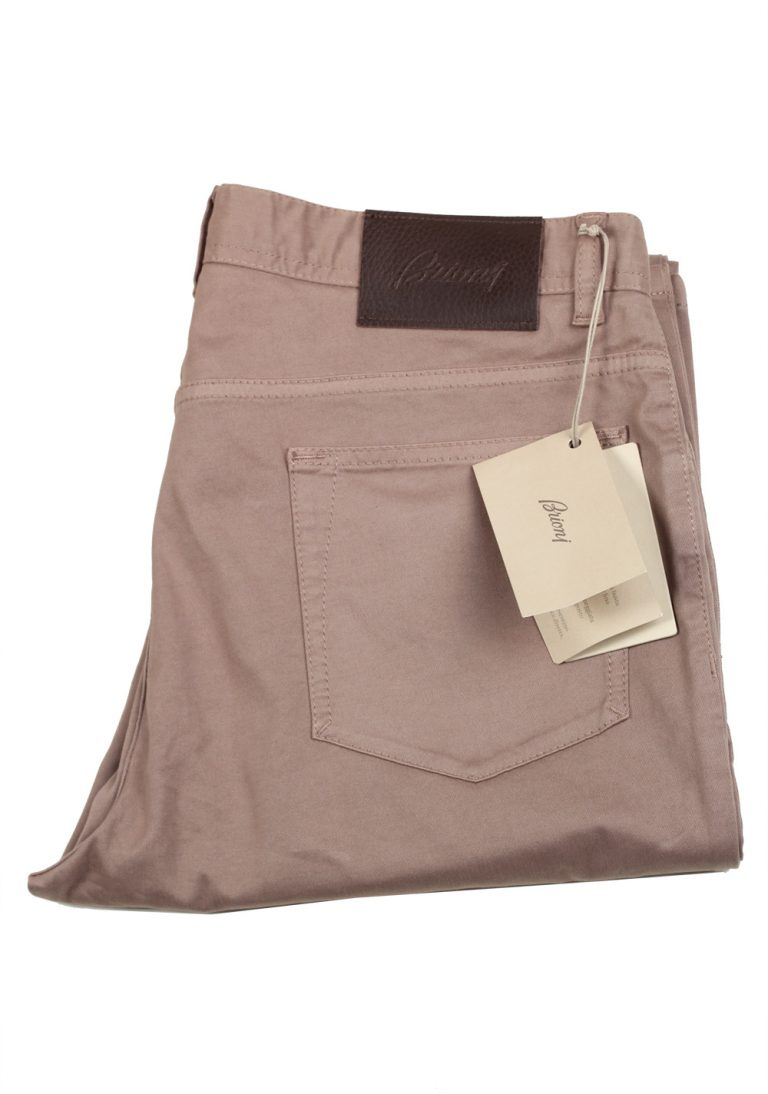 Brioni Brown Jeans SPL43Q Trousers Size 52 / 36 U.S. - thumbnail   Costume Limité